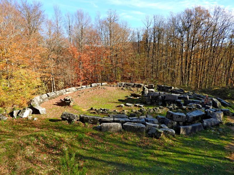 Тракийски ритуал на Мишкова нива, изкачване на Голямо Градище, Бастет и Докузак