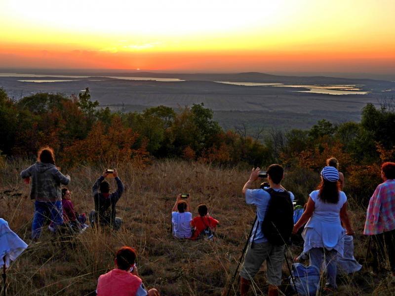 Залез над Бургас - Нощен поход