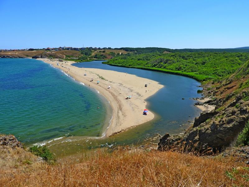 Ахтопол - устие на река Велека. Поход, плаж и лодки