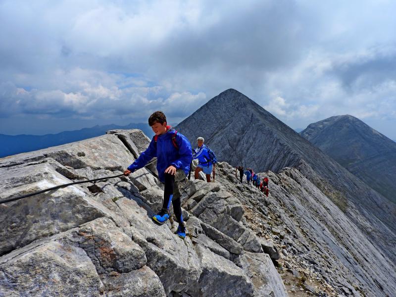 ПИРИН: връх Вихрен - Кончето - Муратов връх